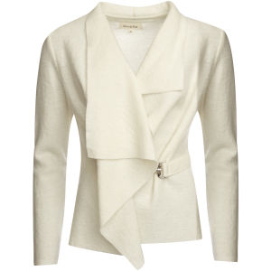 GROA Women's Boiled Wool Jacket - Winter White