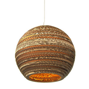 Graypants Moon Pendant Lamp - 10 Inch