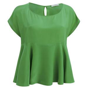 D.EFECT Women's Ida Spring Blouse - Irish Green