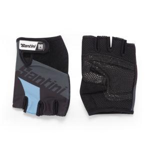 Santini Dragon Gloves - Turquoise