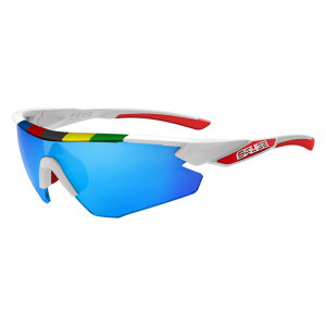 Salice 012 CDM Sport Sunglasses - White/Blue