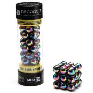 Mega Nanodots Magnetic Constructors  Titanium Spectra - 30 Dots