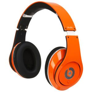 Beats by Dr. Dre: Studio Over Ear Headphones from Monster - Orange