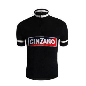 Pella Cinzano Retro Woolen Jersey - Black