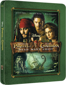 Pirates of the Caribbean: Fluch der Karibik 2 - Zavvi exklusives Limited Edition Steelbook (nur 3000 Exemplare)