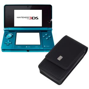 Nintendo 3DS Console (Aqua Blue) Bundle: Includes Free Executive Case