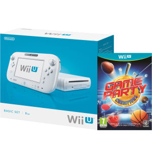 Wii U Console: 8GB Basic Pack - White (Includes Game Party Champions)
