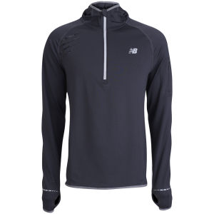 New Balance Men's NBX 1/2 Zip Hoody - Black