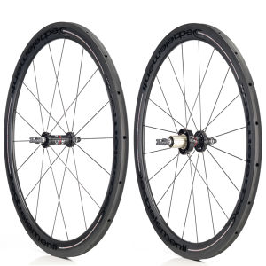 Deda Carbon Tubular 45mm Wheelset - Black on Black