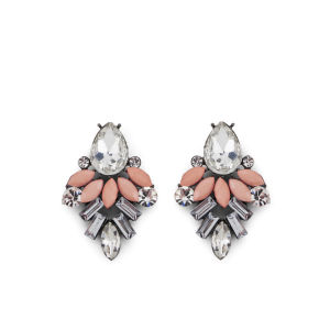 Impulse Women's Drop Earrings - Peach