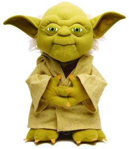 Star Wars - 15'' Jedi Master Yoda Talking Plush
