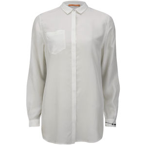 BOSS Orange Women's Eimane Blouse - Natural