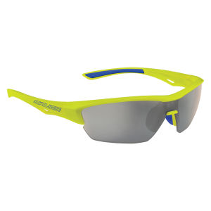 Salice 011 CRX Sport Sunglasses - Yellow/Smoke
