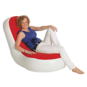 Inflatable E-Chair Red