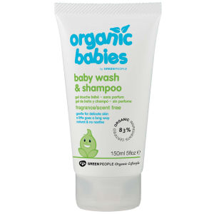 Green People No Scent Baby Wäsche & Shampoo (150ml)