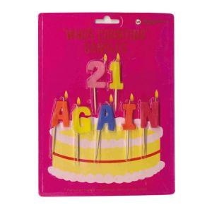Candles - 21 Again