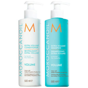 Moroccanoil Extra Volume Shampoo and Conditioner Duo (500ml)