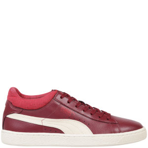 Puma Men's Stepper Rugged Trainers - Burgundy / White