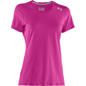 Under Armour Women's Sonic T-Shirt - Strobe/Lead