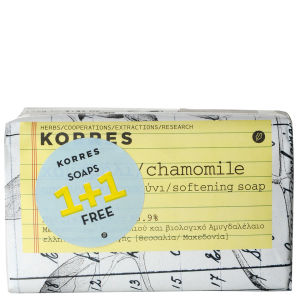 Korres Chamomile and Milk Soap 1+1