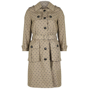 Orla Kiely Women's Trench Coat - Camel