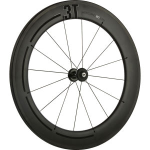 3T Wheel Mercurio 80 Ltd Stealth Carbon Tubular