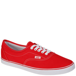 Vans LPE Canvas Trainers - Red
