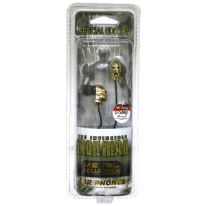 iHip Marvel Retro Earphones - Iron Man
