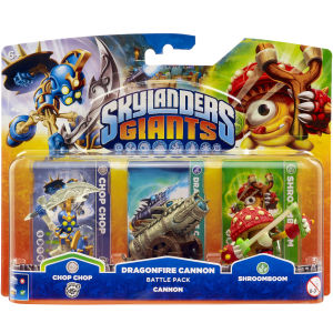 Skylanders: Giants: Battle Pack (Includes Chop Chop, Shroomboom and Cannon Piece)