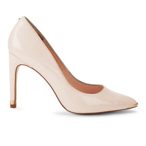 Ted Baker Women's Thaya Patent Leather Court Shoes - Nude