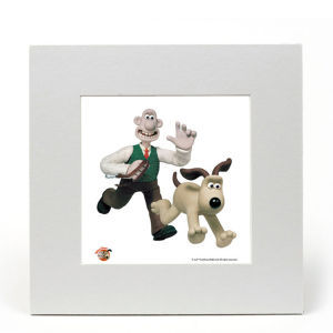 Wallace and Gromit Fine Art Print - Walkies