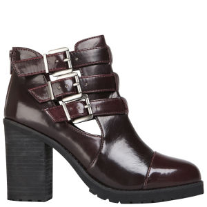 Miss KG Women's Bianca Heeled Ankle Boots - Wine