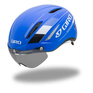 Giro Air Attack Shield Cycling Helmet Blue/White
