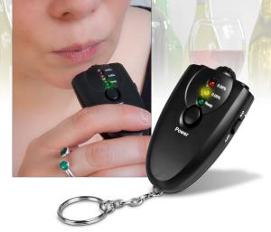Keyring Alcohol Breath Tester