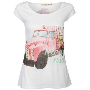 Brave Soul Women's Truck Print T-Shirt - Multi