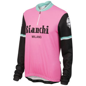 Bianchi Roccella Celebrative Long Sleeve Jersey - Pink