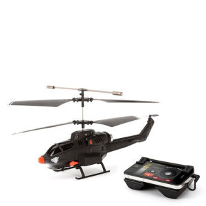 Griffin Helo TC Assault Touch Controlled Missile Helicopter for iPad, iPhone, Android