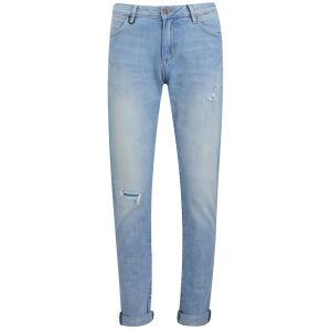 NEUW Women's Sister Ray Mid Rise Boyfriend Jeans - Camden Blue