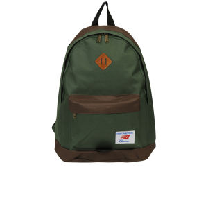 New Balance Casual Backpack - Green/Brown