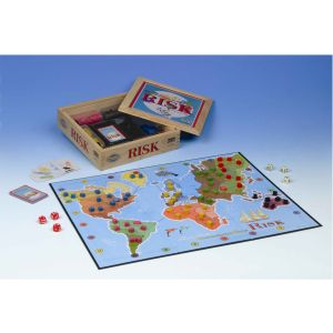 Risk Nostalgia Edition Board Game