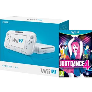 Wii U Console: 8GB Basic Pack - White (Includes Just Dance 4)
