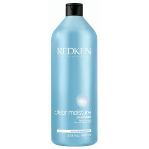 Redken Clear Moisture Shampoo 1000ml with Pump
