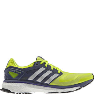 Adidas Women's Energy Boost Running Shoe - Elecricty/Metallic Silver/Black