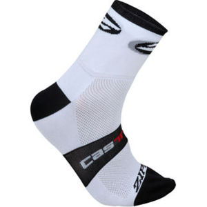 Castelli Zipp 9cm Sock - White