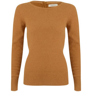 Sessun Women's Scottish Fold Jumper - Sunflower