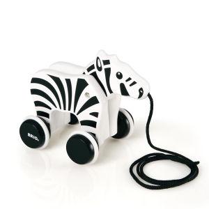 Brio Nachzieh-Zebra