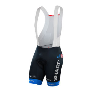 Garmin Sharp Team Men's BodyPaint Aero Bib Shorts - 2013