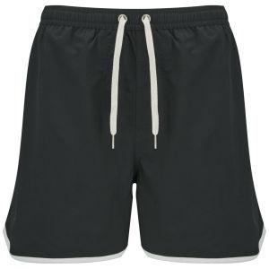 Jack & Jones Originals Men's Athletic Swim Shorts - Pirate Black
