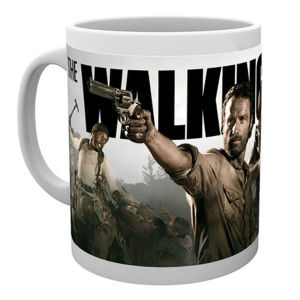 The Walking Dead Banner Mug