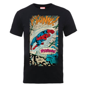 Marvel Spider-Man Ftanng Men's T-Shirt - Black